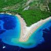 Bol sur l'île de Brac - Plage de Zlatni Rat
