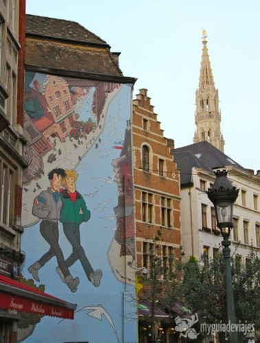ruta del comic, Bruselas