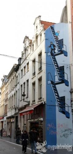 ruta del comic, bruselas