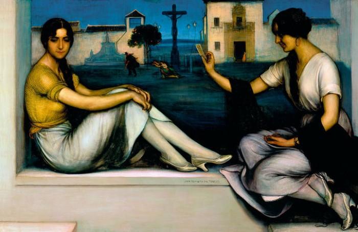 La buenaventura Romero de Torres museo thissen malaga 700x455 12 (+1) museos que ver en Málaga