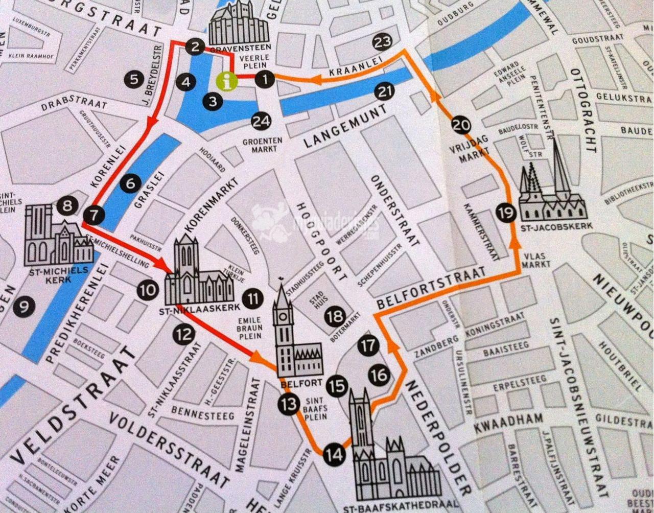 Bruselas Brujas Y Gante Itinerarios Foros De Viajes P63 Los Viajeros