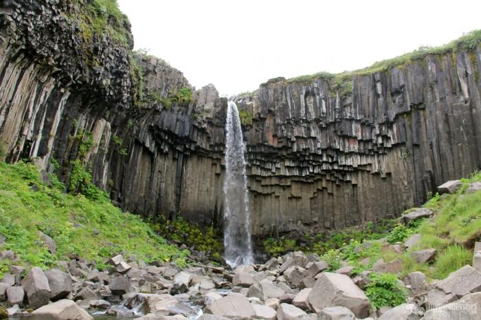 cascada basalto