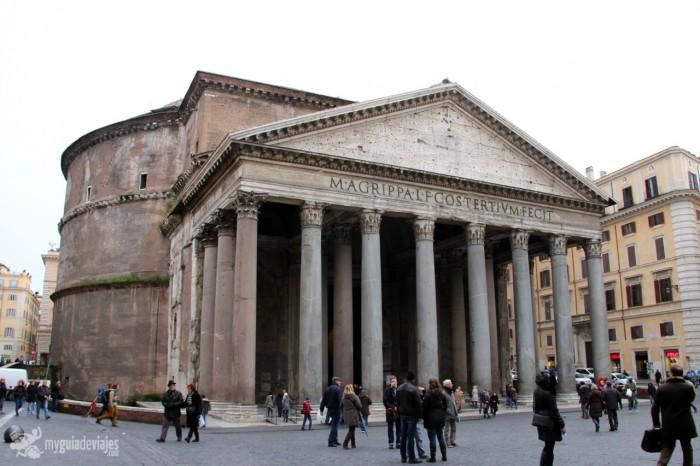 panteon 700x466 Viajar con niños: qué ver en Roma