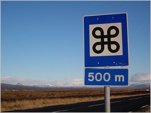 señal islandia