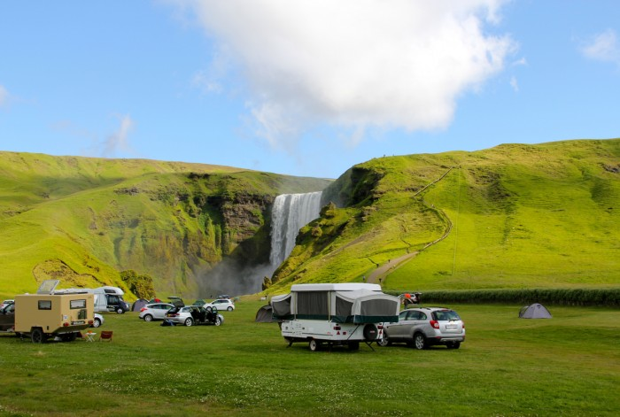 camping islandia