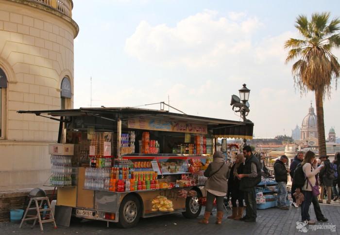 autobuses comida  roma