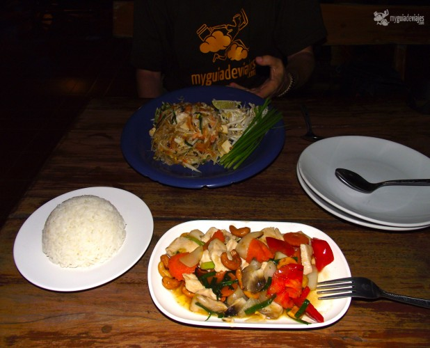comer mercado nocturno chiang rai