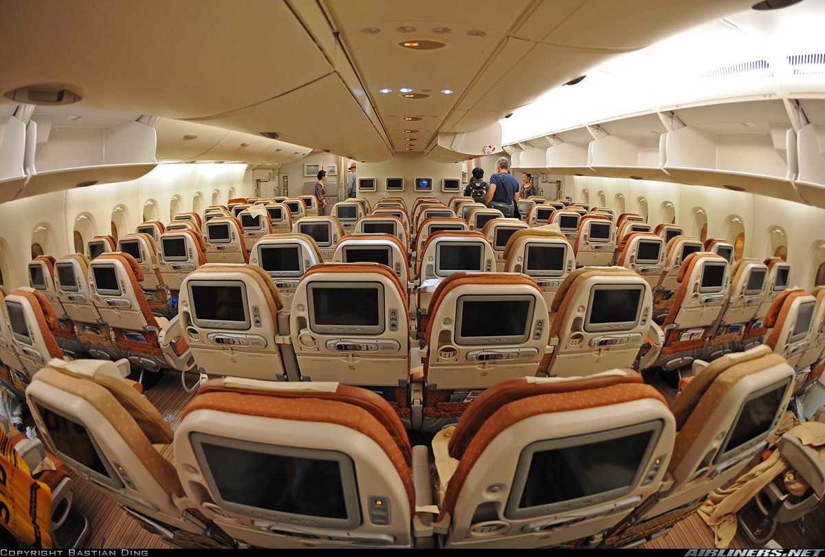 Inside A Airbus A880 for Pinterest