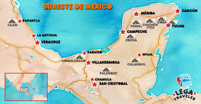 mapa-ruta-mexico