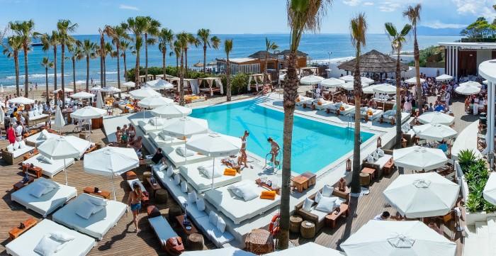 El exclusivo Nikki Beach. Imagen de nikkibeach.com