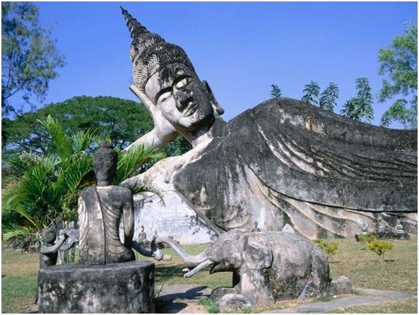 Parque de Buda, Vientiane