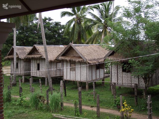 cabañas laos