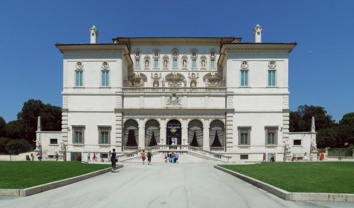 Fachada de Villa Borghese. wikipedia.org