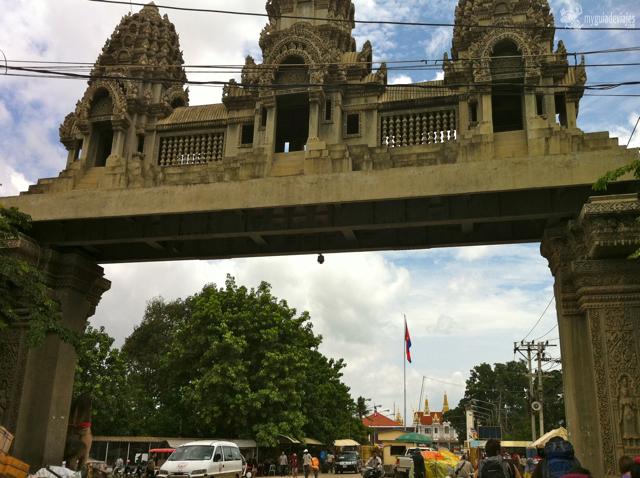 La lenta frontera de Camboya-Tailandia