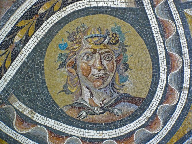 Mosaico en el Palazzo Massimo. wikipedia.org