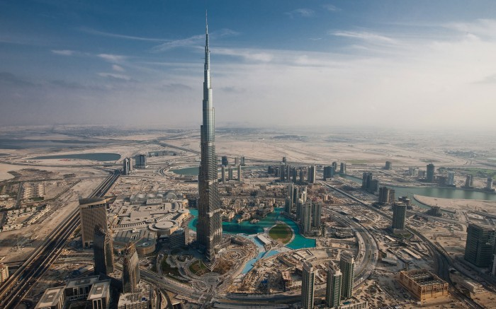 Burj Khalifa en Dubai.