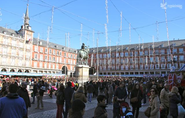Plaza Mayor en diciembre