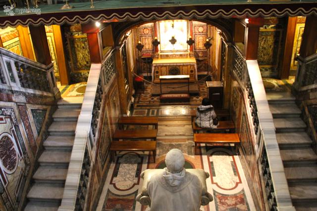 capilla en Santa María la Mayor