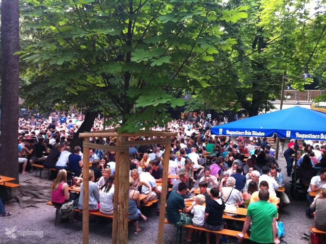 Cervecería en Munich