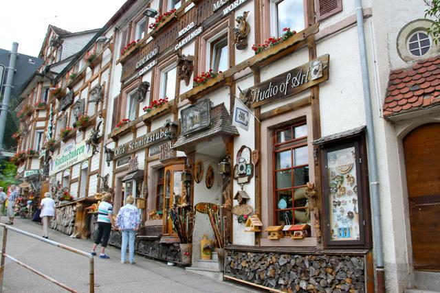 Tiendas en Triberg