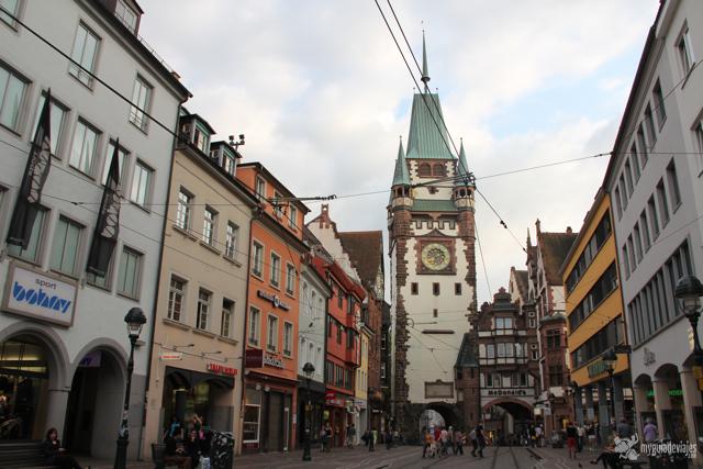 Friburgo, la capital de la región