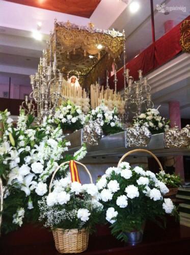 virgen del Rocio, novia de Málaga