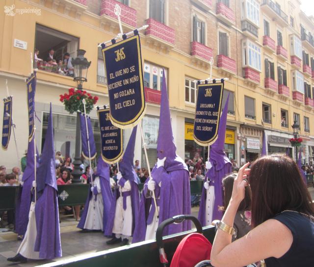 Procesión de la Pollinica el Domingo de Ramos