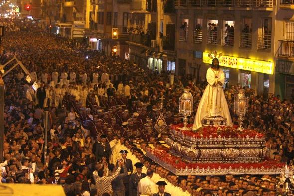 El Cautivo, de los más queridos en Málaga.