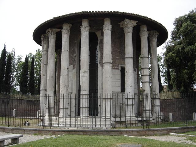 Templo de Hércules en el Foro Beario. wikipedia