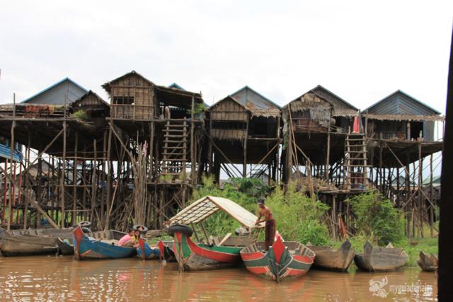 aldeas flotantes del tonlé sap
