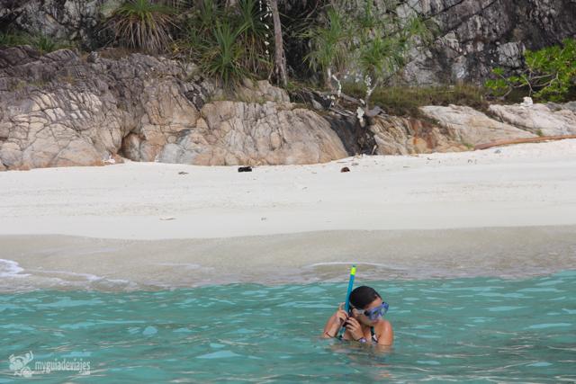 snorkel perhentian