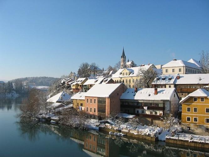 Novo Mesto. Nieve en verano habrá poca....