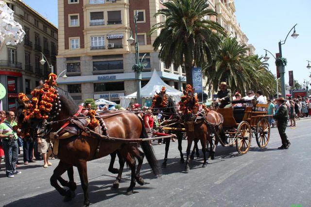 Romeria de la Feria de Málaga. Imagen de diariosur.es
