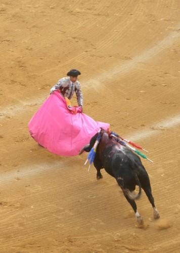 toros feria malaga