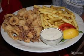 especialidad eslovena: calamares