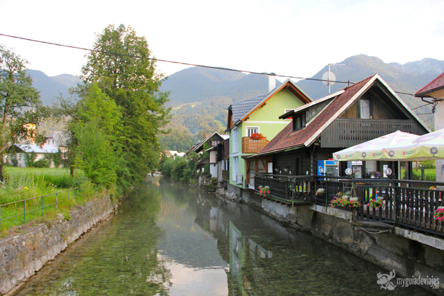Localidad de bohinjska Bistrica