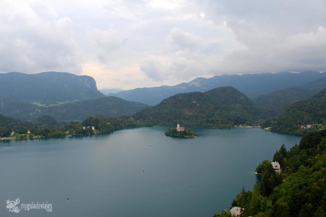 El famoso Lago Bled