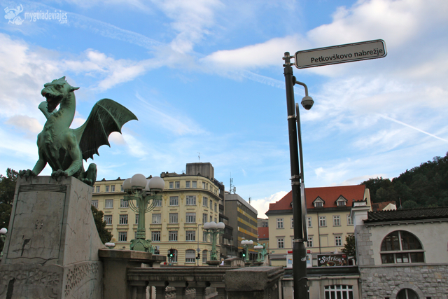 El dragón es el símbolo de Liubliana