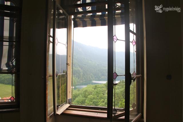 vistas exteriores desde Hohenschwangau