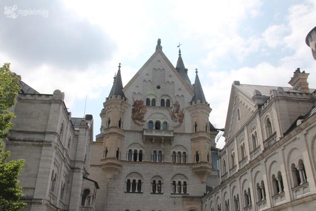 fachada castillo neuschwanstein