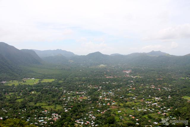 El Valle de Antón desde la India Dormida