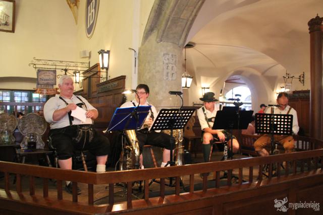 orquesta en Hofbräuhaus