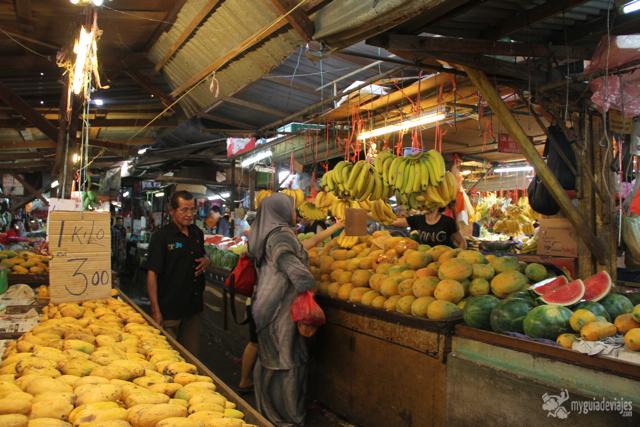 Mercado en Kuala Lumpur