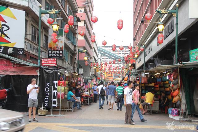 Chinatown de kuala lumpur