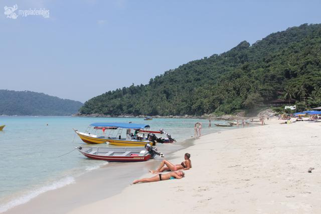 Long beach, islas perhentian