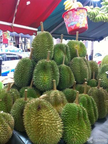 Durián, la fruta más apestosa del mungo