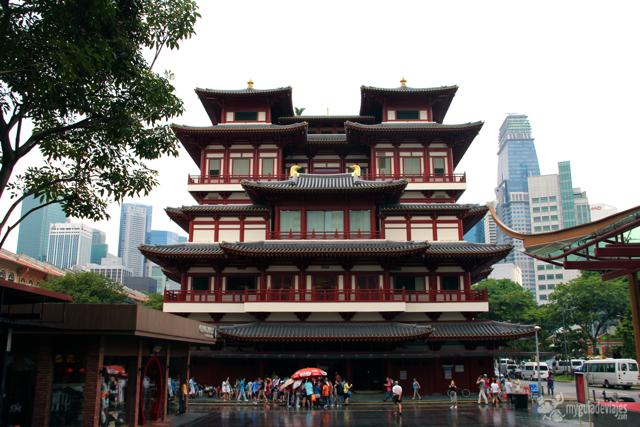 tradición y modernidad en Singapur