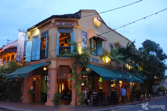 Geographer Café, lo más animado de Malaca.