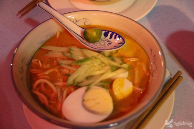 Malaysian Mee curry