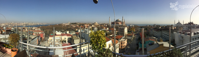 Estambul desde el Panoramic Restaurant.